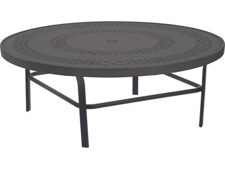 Windward Design Group Mayan Punched Aluminum 42 Round Table