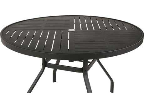 Windward Design Group Napa Punched Aluminum 42 Round Table