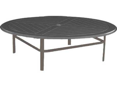 Windward Design Group Hartford Mgp Aluminum 42 Round Table with Umbrella Hole