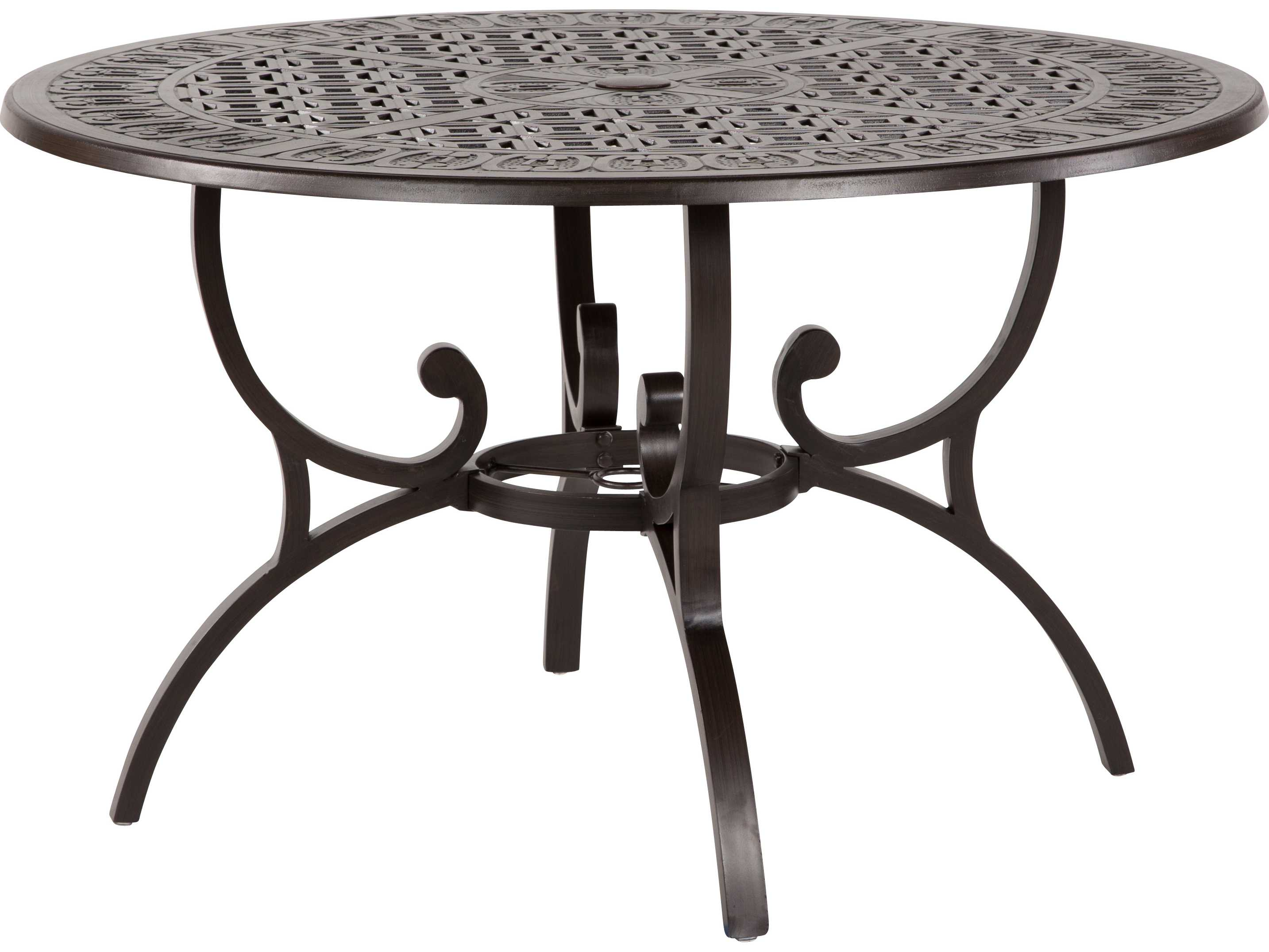 Windward Design Group Versailles Dining Cast Aluminum 48 Round