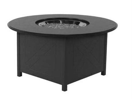 Windward Design Group Mgp Aluminum 48''Wide Round Fire Pit Table WINWTFP48MGP
