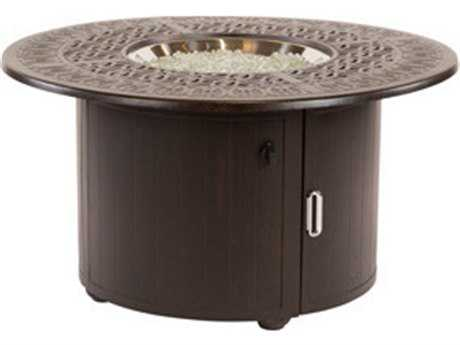 Windward Design Group Versailles Cast Aluminum 48 Round Fire Pit Table