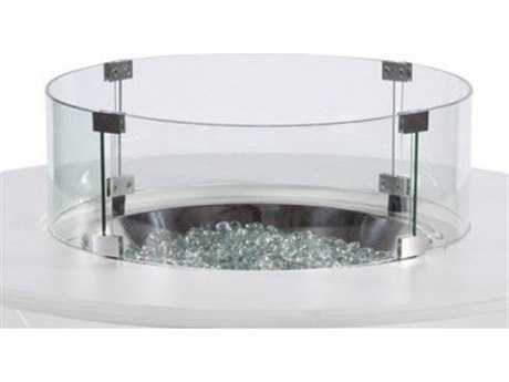 Windward Design Group Mgp Fire Pits Glass Wind Guard