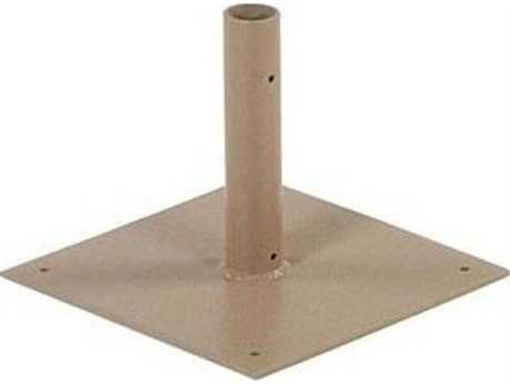 Windward Design Group Umbrella Base Unpainted Deck Plate