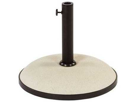 Windward Design Group Umbrella Base 67 lbs. Freestanding Concrete Off-White 20 x 16
