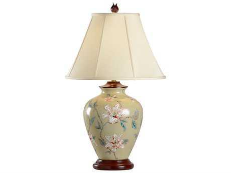 Wildwood Lamps Porcelain Magnolia Table Lamp