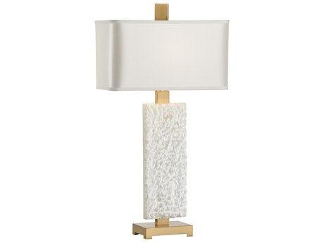 Wildwood Lamps Rushmore White And Antique Brass Buffet Lamp