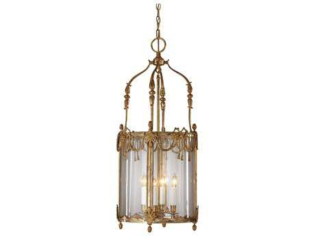 Wildwood Lamps With Swags French Gold On Solid Brassour Lantern