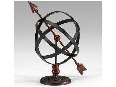 Wildwood Lamps Armillary Antique Cast Iron Decorative Accent