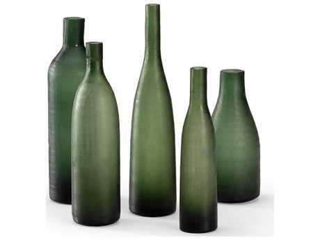 Wildwood Lamps Glass Bottles Antique Glass Vase (Set Of Five)