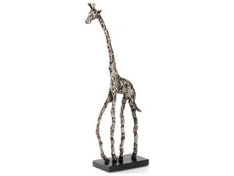Wildwood Lamps Giraffe Wire Aluminum With Lacquer Base Sculpture