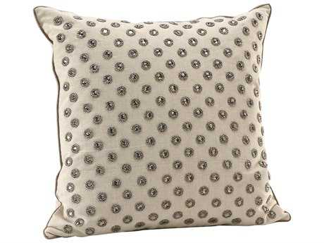 Wildwood Lamps Elegant Jeweled Pillow