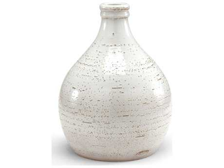 Wildwood Lamps Scavo Glaze In White Earthenware Mangani 36 Vase