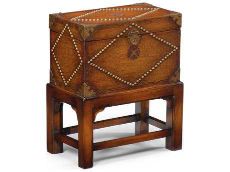 Wildwood Lamps Studded On Stand Leather Studded On Stand Jewelry Box