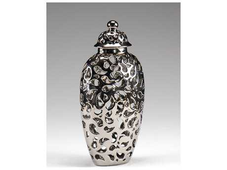 Wildwood Lamps Pierced Jar With Lid Urn