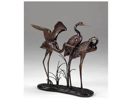 Wildwood Lamps Wading Cranes Sculpture