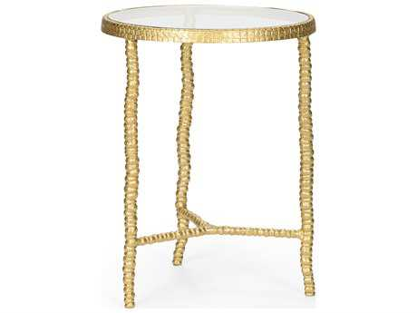 Wildwood Lamps Urchin Aluminum Antique Gold Accent Table