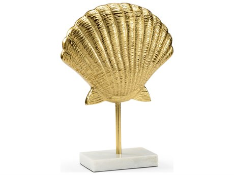 Wildwood Lamps Scallop Gold Decorative Accent