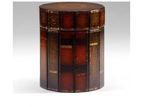 Wildwood Lamps Leather Jewelry Box