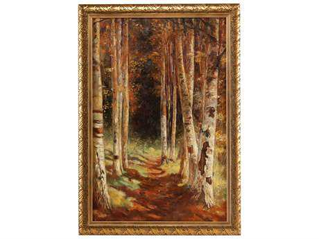 Wildwood Lamps Landscape Oil Painting Wall Art