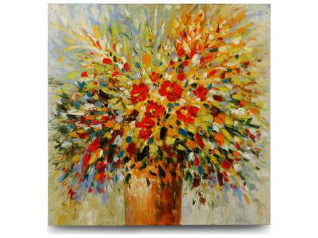 Wildwood Lamps Oil Painting Canvas Wall Art