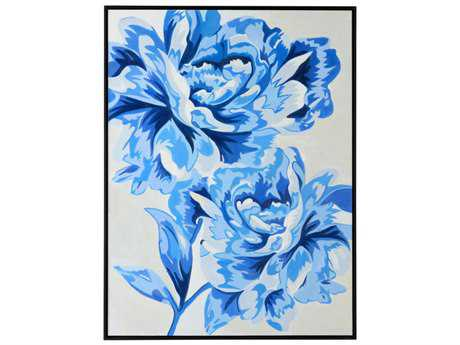 Wildwood ''Pretty And Blue'' Wall Painting