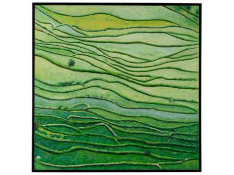 Wildwood ''Rice Fields'' Wall Painting