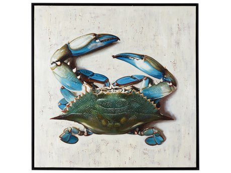 Wildwood Lamps Blue Crab Painting