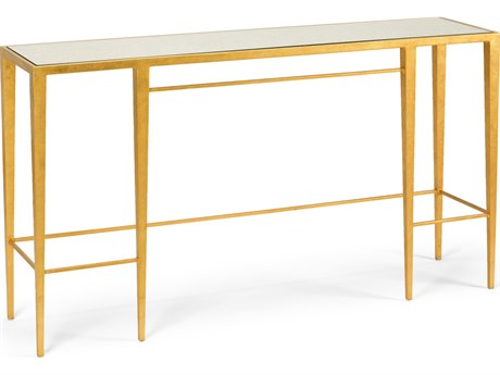 Wildwood Lamps Chelsea Gold 60'' x 14'' Rectangular Console Table