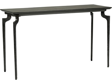 Wildwood Lamps Bradley Charred Bronze 54'' x 18'' Rectangular Console Table