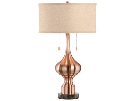 Wildwood Lamps Edie Brown Marble Base Buffet Lamp