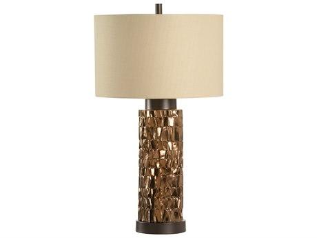 Wildwood Lamps Mavis Metallic Bronze And Bronze Buffet Lamp