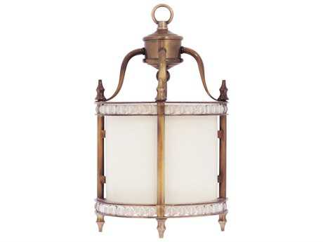 Wildwood Faringdon Wall Dark Antique Brass With Crystal Beads Wall Sconce