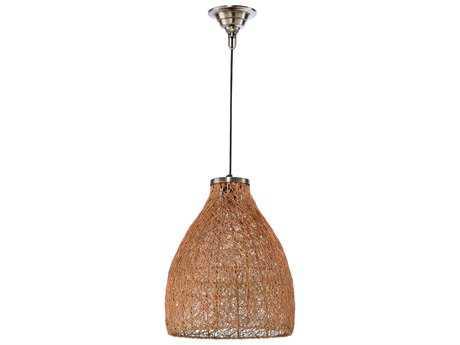 Wildwood Husk Copper 12'' Wide Pendant Light