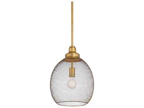 Wildwood Colton Antique Brass 11'' Wide Pendant Light