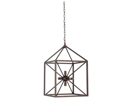 Wildwood Portsmith Bronze Six-Light 16.5'' Wide Chandelier