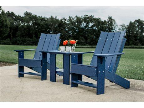 Wildridge Contemporary Recycled Plastic 3 Piece Lounge Set