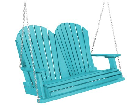 Wildridge Heritage Recycled Plastic Two Seat Swing PatioLiving
