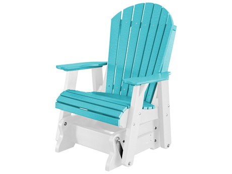 Wildridge Heritage Recycled Plastic Glider Lounge Chair PatioLiving