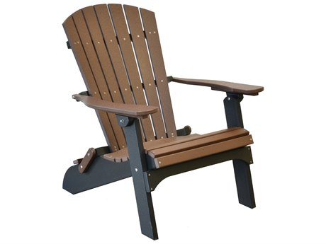 Wildridge Heritage Recycled Plastic Folding Adirondack Chair