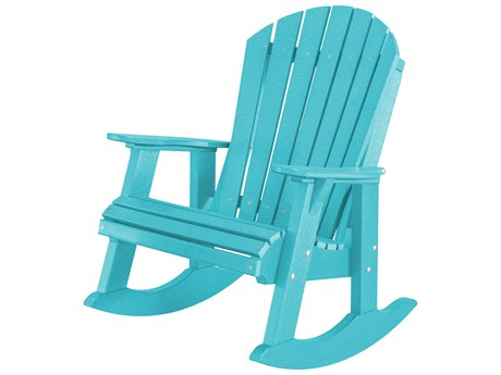 Wildridge Heritage Recycled Plastic High Fan Back Rocker Chair PatioLiving