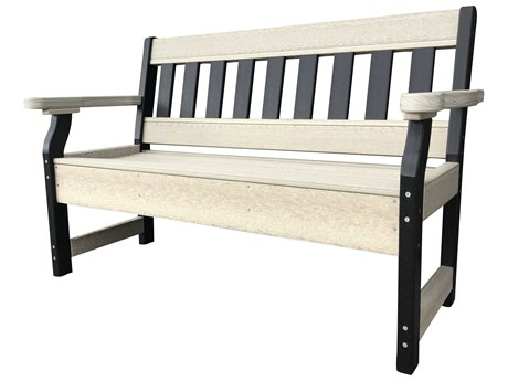 Wildridge Heritage Recycled Plastic Garden Bench PatioLiving