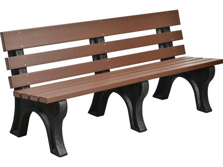 Wildridge Heritage Recycled Plastic Park Bench PatioLiving