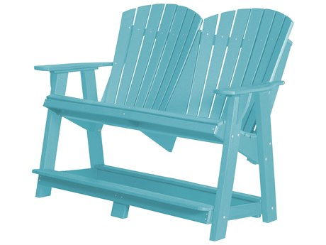 Wildridge Heritage Recycled Plastic High Adirondack Loveseat PatioLiving