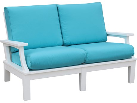 Wildridge Heritage Recycled Plastic Deep Seating Loveseat PatioLiving