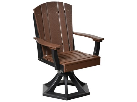 Wildridge Heritage Recycled Plastic Swivel Rocker Dining Arm Chair