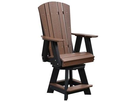Wildridge Heritage Recycled Plastic Swivel Counter Chair PatioLiving