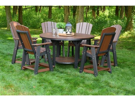 Wildridge Heritage Recycled Plastic 7 Piece Counter Set PatioLiving