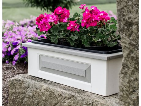 Wildridge Accessories Recycled Plastic Small Window Box Planter PatioLiving