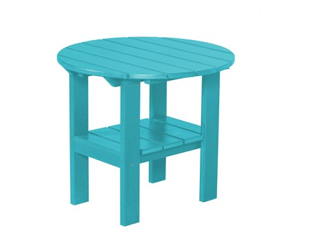 Wildridge Classic Recycled Plastic 24''Wide Round End Table